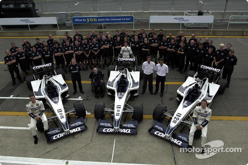 2000: Formel-1-Debüt mit Williams