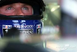 David Coulthard completamente concentrado