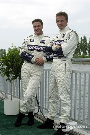 Ralf Schumacher ve Jenson Button