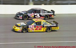 Ward Burton, Bill Davis Racing, Pontiac Grand Prix, Dale Earnhardt, Richard Childress Racing, Chevrolet Monte Carlo