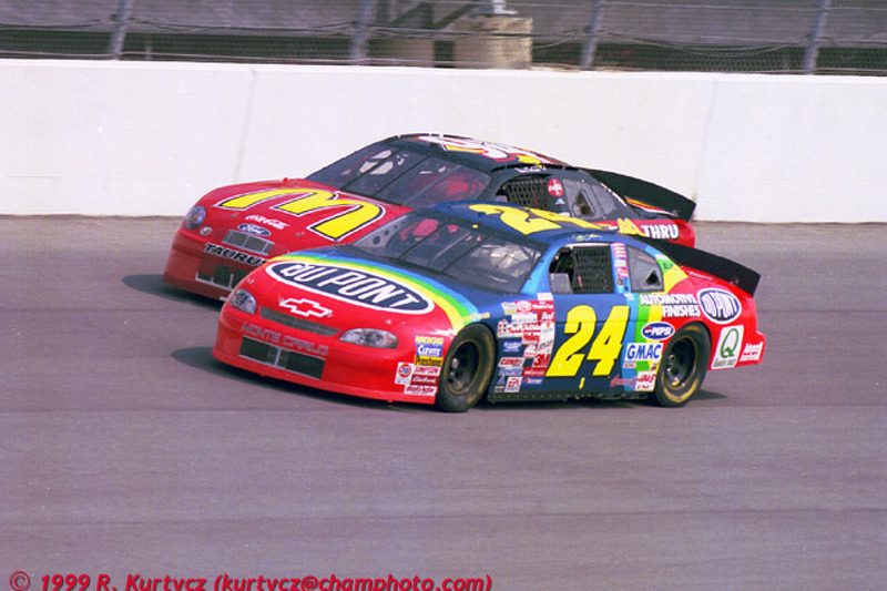 Jeff Gordon Rainbow Warrior