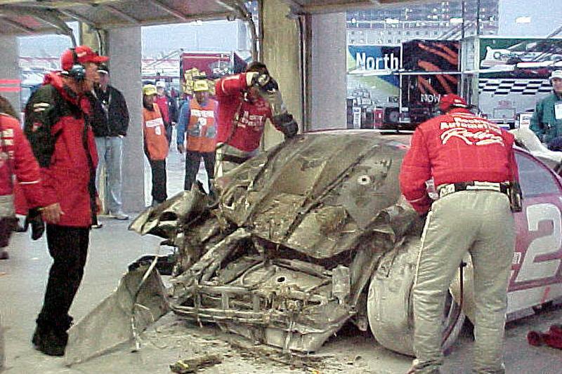 More #21 after crash