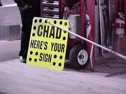 Chad panneau de stand
