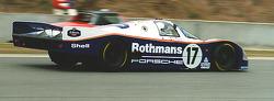 Ausstellung Porsche 956 - Le Mans
