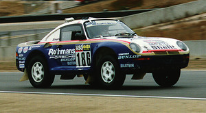 Porsche 959 - Paris to Dakar winner