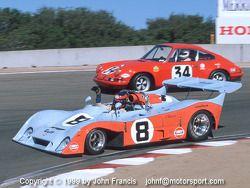 1972 Gulf Mirage M6 & 1971 Porsche 911ST