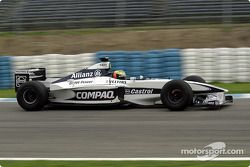 Ralf Schumacher testing the Williams FW22b