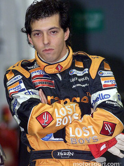 Silverstone shakedown: Gaston Mazzacane