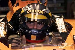 Jerez test: Pedro de la Rosa
