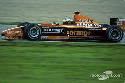 Pedro de la Rosa on the Jerez circuit