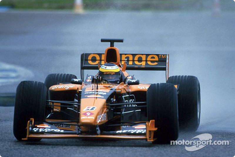 El circuito de Jerez bajo la lluvia