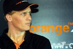 New test driver Johnny Herbert