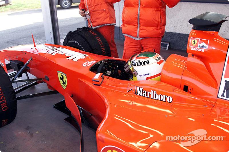 Ferrari test session