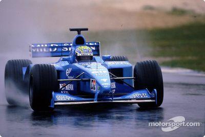 Benetton test session