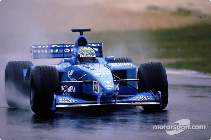 2001 - Tests chez Benetton