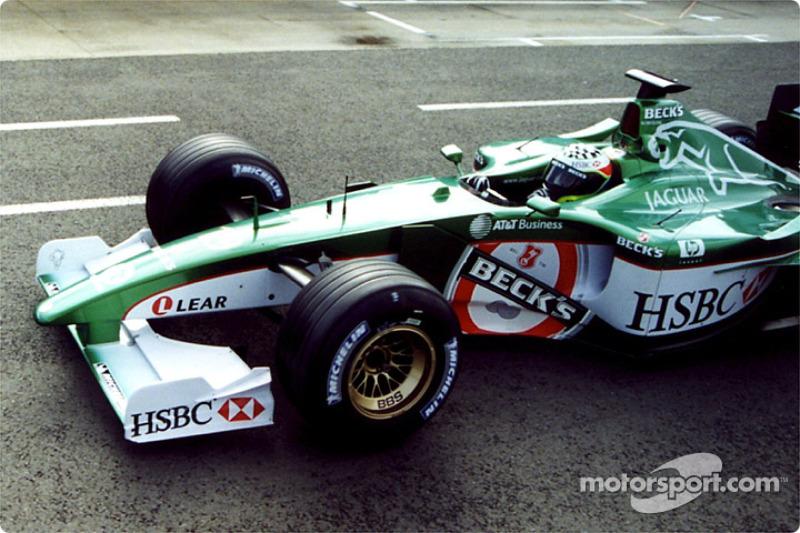 Tomas Scheckter Jaguar