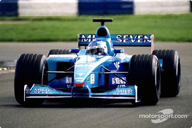 Giancarlo Fisichella en Silverstone