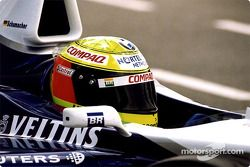 Ralf Schumacher dans les stands