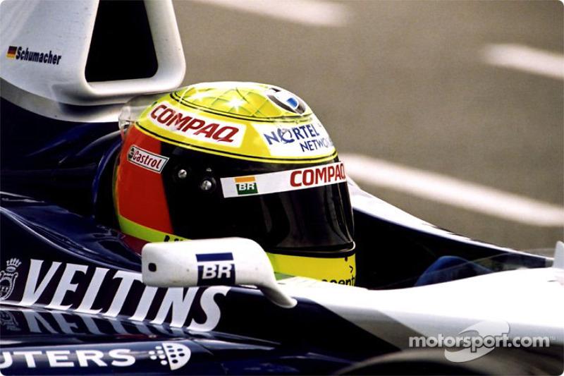 Ralf Schumacher in the pits