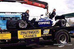 Ralf Schumacher'in Williams, a tırı