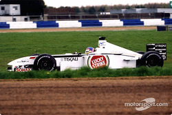 Jacques Villeneuve en Luffield