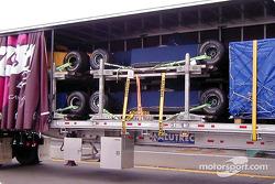 La Fórmula 1 en los semi trailers