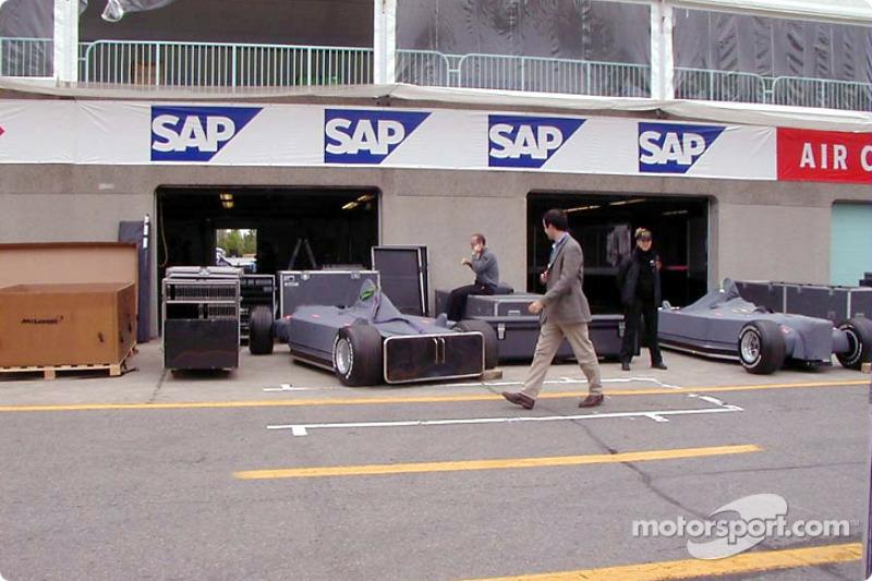 Garage de McLaren