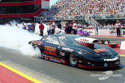 Greg Anderson was the crew chief when Warren Johnson made the first 200mph pass in Pro Stock. Now A