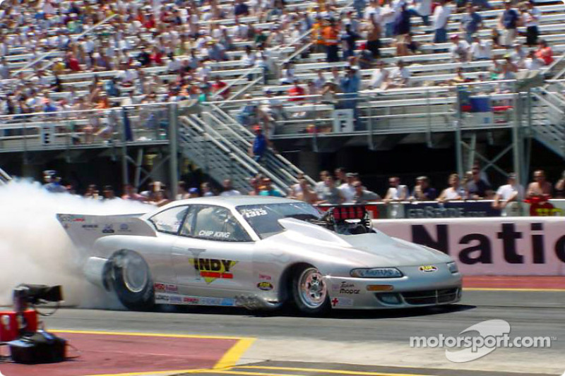 Chip King in a 2001 Avenger Pro Mod