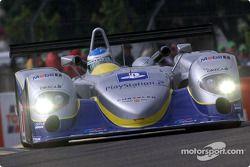 Norman Simon dans la Chrysler LMP
