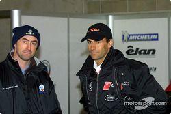 David Brabham y Emanuele Pirro