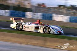 Frank Biela in de Infineon Audi R8 #1