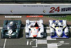 Bentley, Audi and Chrysler