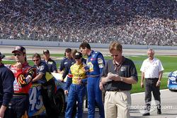 Andretti y Waltrip hablan sobre lo largo y corto de la clasificación