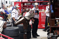 Stretching for the next pit stops