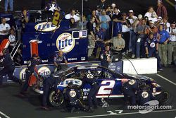 Rusty Wallace rentre aux stands