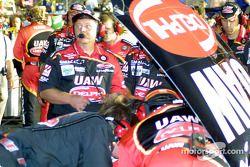 Action at Hendrick Motorsports