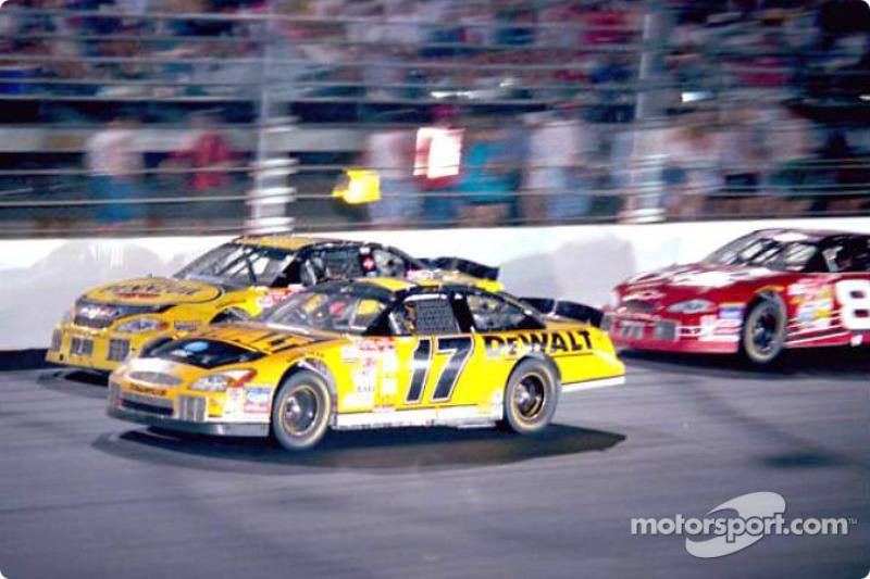 Matt Kenseth, Steve Park and Dale Earnhardt, Jr