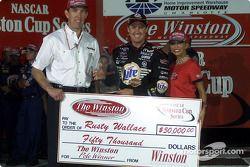 Rusty Wallace pole winner for The Winston.