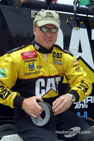 El jefe de equipo de Ward Burton, Tommy Baldwin