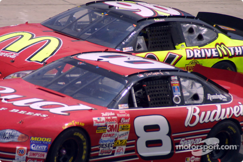 Dale Earnhardt Jr. and Andy Houston