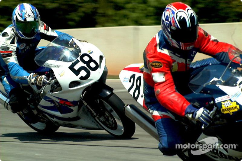 Rick Narup et Scott Gouch, Superbike