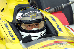 Roberto Guerrero dans la voiture 7T de Stephan Gregoire