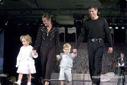 Scott Sharp, Kim and Briana and Jackson