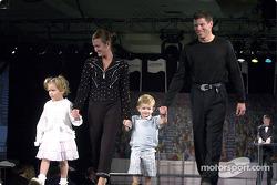 Scott Sharp, Kim et Briana et Jackson
