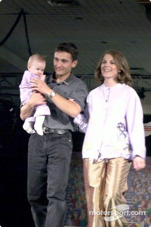 Stephan y Virginie Gregoire y su hija Eliza