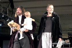Kathy George y su familia