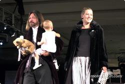 Kathy George et sa famille