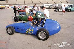 Formula Juniors sur la grille