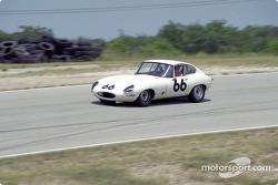 Tom McMurry, #66 Jaguar E-Type